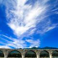 Photos: タウシュベツ川橋梁