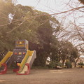 ロボットがいる公園