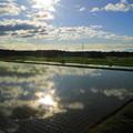 写真: 雲が流れて