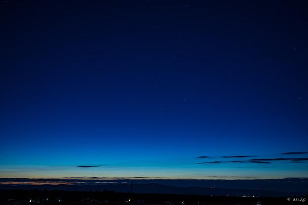 夜明けの星と~