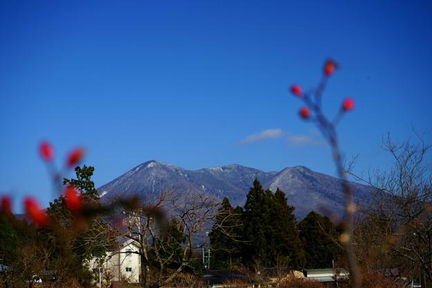 遠い山と~