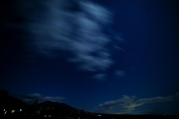 雲が流れて~20秒
