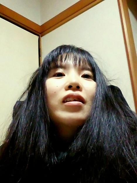 いつの?って今の!w 切られた時は笑けたがすぐ慣れた。慣れってコワイ。  #前髪