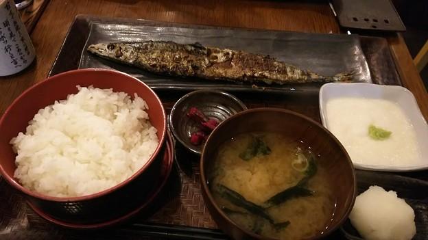 サンマーうんまーい\(^^)/ビールのみてー #昼 #帰りてー #秋刀魚