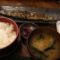 写真: サンマーうんまーい\(^^)/ビールのみてー #昼 #帰りてー #秋刀魚