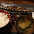 Photos: サンマーうんまーい\(^^)/ビールのみてー #昼 #帰りてー #秋刀魚
