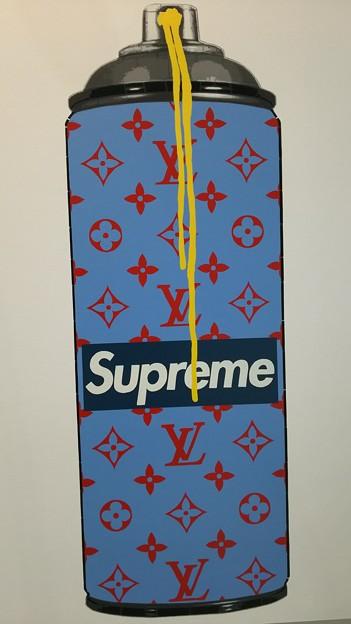 supreme × モノグラム #art #street