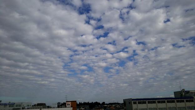 空が近い( ☆∀☆) #志久 #仕事 #田舎