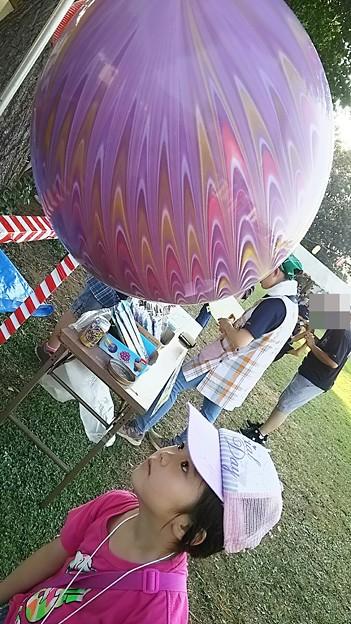 Photos: 風船ほしい!