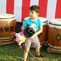 Photos: 太鼓とオミ