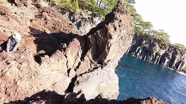 4千年前の溶石 城ヶ崎海岸