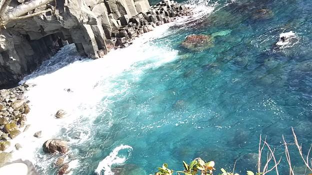 城ヶ崎海岸3 海の透明度
