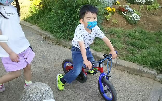 補助無自転車