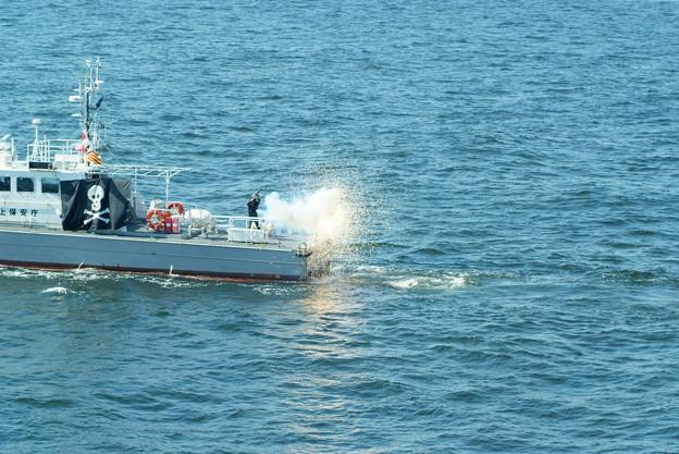 海上保安制度創設70周年記念観閲式及び総合訓練