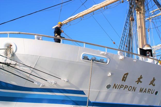 帆船日本丸遠洋航海出港