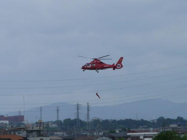 消防庁ヘリコプター6レスキュー隊員