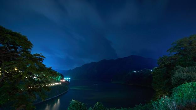 赤谷湖-夜景
