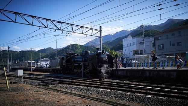 秩父鉄道SLパレオエクスプレス-三峰口駅