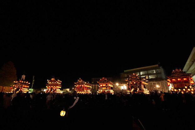 Photos: 秩父夜祭大祭山車集結