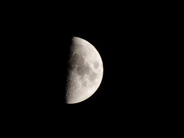 木星土星大接近の日の月