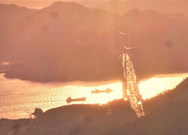 光る海峡・布刈の瀬戸@しまなみ海道冬景色