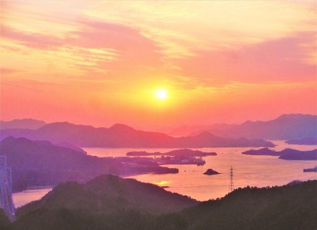 しまなみ海道・春めく季節@因島大橋・布刈の瀬戸