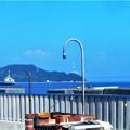 写真: 真夏の海辺の風景@しまなみ海道・因島大橋@BBQセット付き