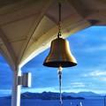 写真: 鐘の鳴る丘@瀬戸内海・糸崎の丘@展望デッキ