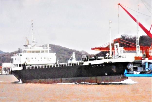 大型船舶「第五〇〇丸」が行く@瀬戸内海・尾道水道