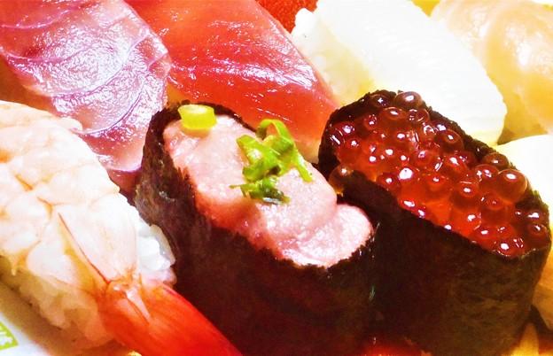 新春のはま寿司10貫セット@お持ち帰りOK