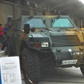 Photos: 自衛隊の小型トラック 「軽装甲機動車」@みなと祭2019