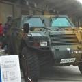 自衛隊の小型トラック 「軽装甲機動車」@みなと祭2019