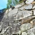 Photos: 見上げれば青空@築城450年の浮城(三原城)の石垣