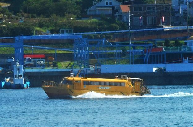 黄色い弾丸高速艇がゆく@尾道~因島土生~瀬戸田