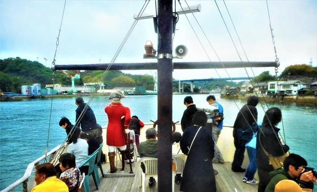 進路は西@遊覧海賊船バイキングエース号