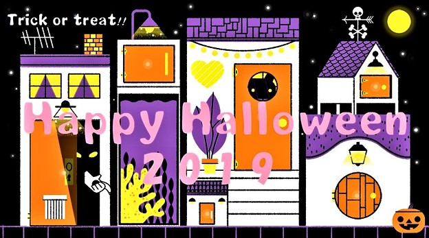 Happy Halloween 2019 - Trick or Treat !!