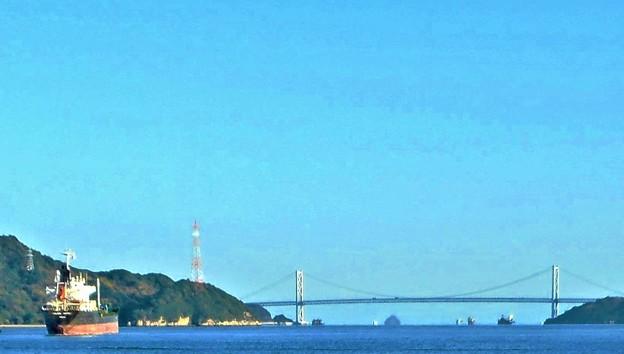 海峡に架かる橋@布刈瀬戸と因島大橋(しまなみ海道)