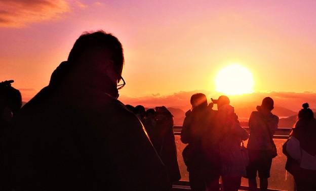 Photos: 初日の出2020.1.1@千光寺山