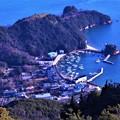 Photos: 観音崎の漁港風景