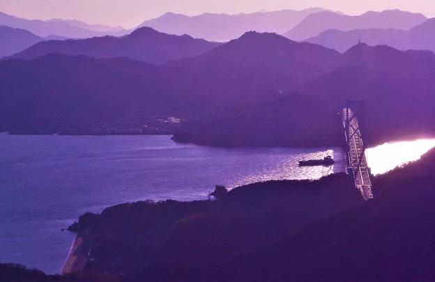 二月の光る海峡@しまなみ海道