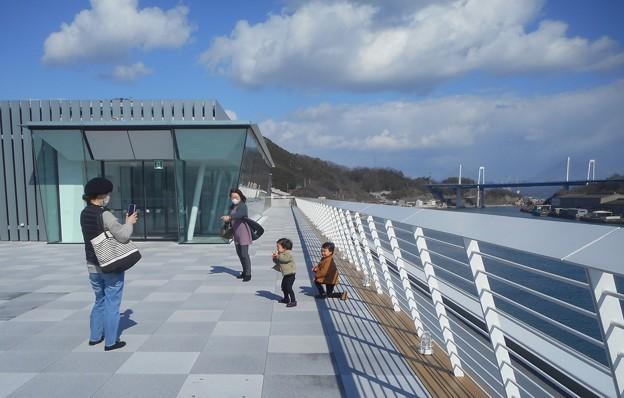 しまなみ海道が観える@風の強い日@5F展望デッキ