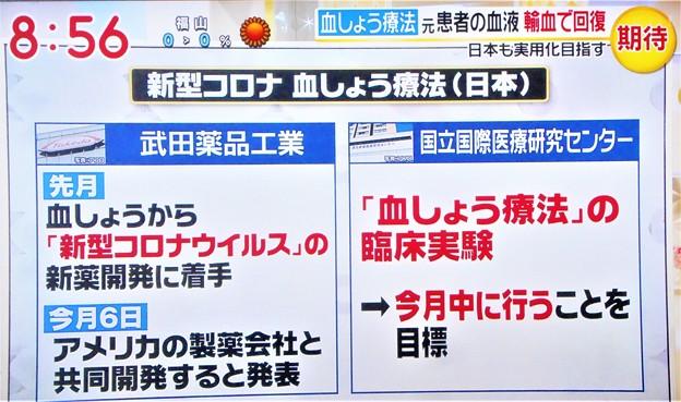 新型コロナ 血しょう療法(日本)