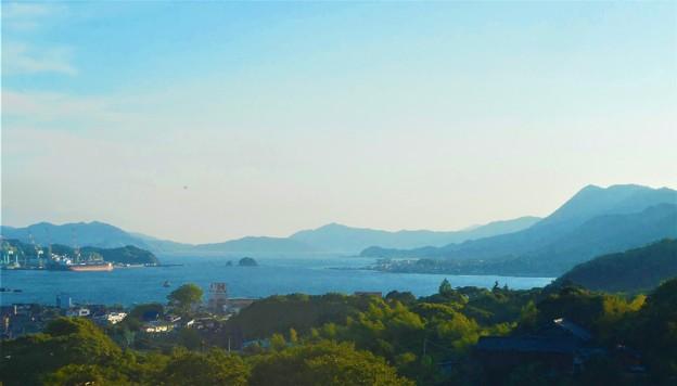 6月の瀬戸内海@因島・大山トンネルからの眺望
