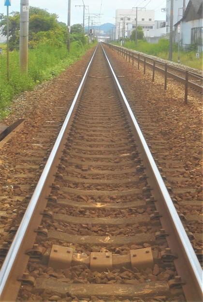 線路は続くよ どこまでも@JR山陽