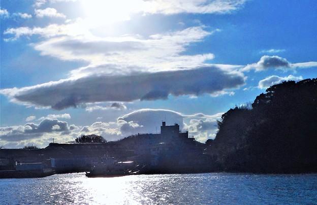 新春の海と空と雲@21.1.1