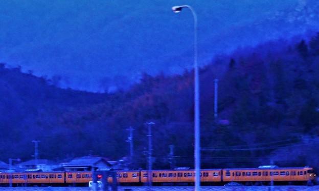 新春の海岸線を走る@トワイライト山陽21.1.15
