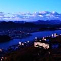 Photos: 新年の夜明け@千光寺山展望台21.1.1.07:42am