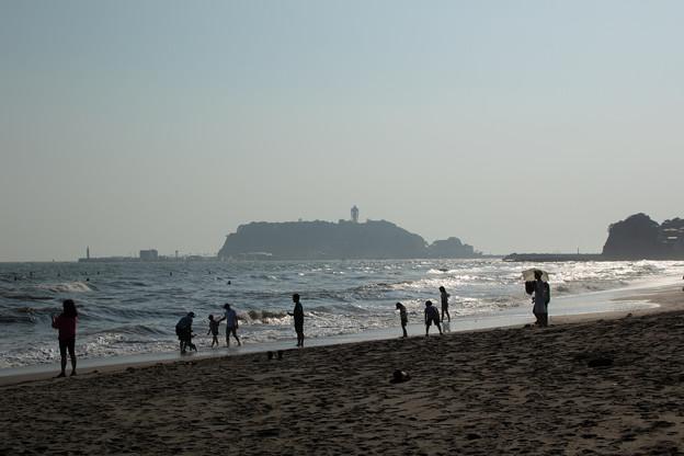 真夏の七里ガ浜