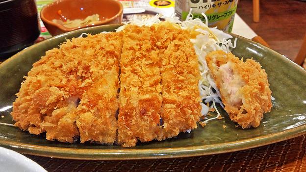 ガスト ( 成増店 ) 豚ロースのとんかつ   2016/07/09