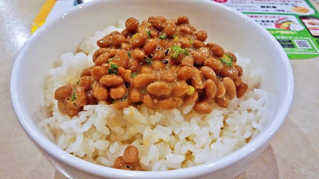 ガスト ( 成増店 ) 納豆ご飯   2016/09/24